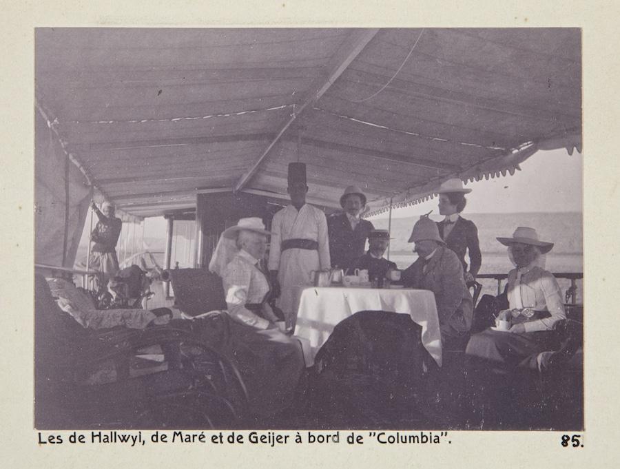 Ombord på ångbåten Columbia