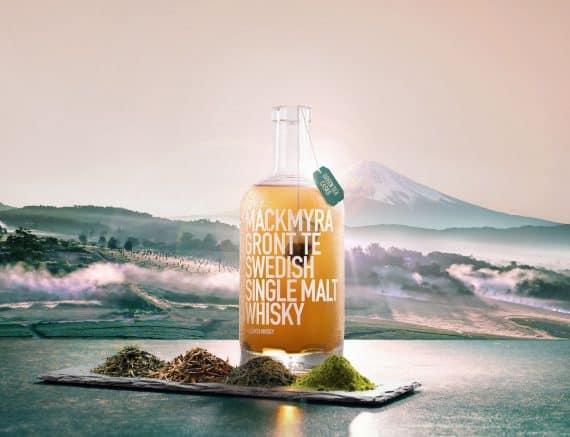 Mackmyra grönt te säsongswhisky lansering 27 mars 2020