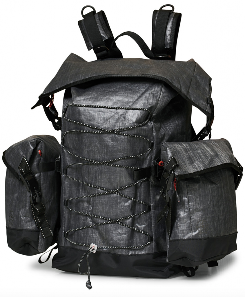 regnsäker ryggsäck från Peak Performance ur Ben Gorham-kollektionen