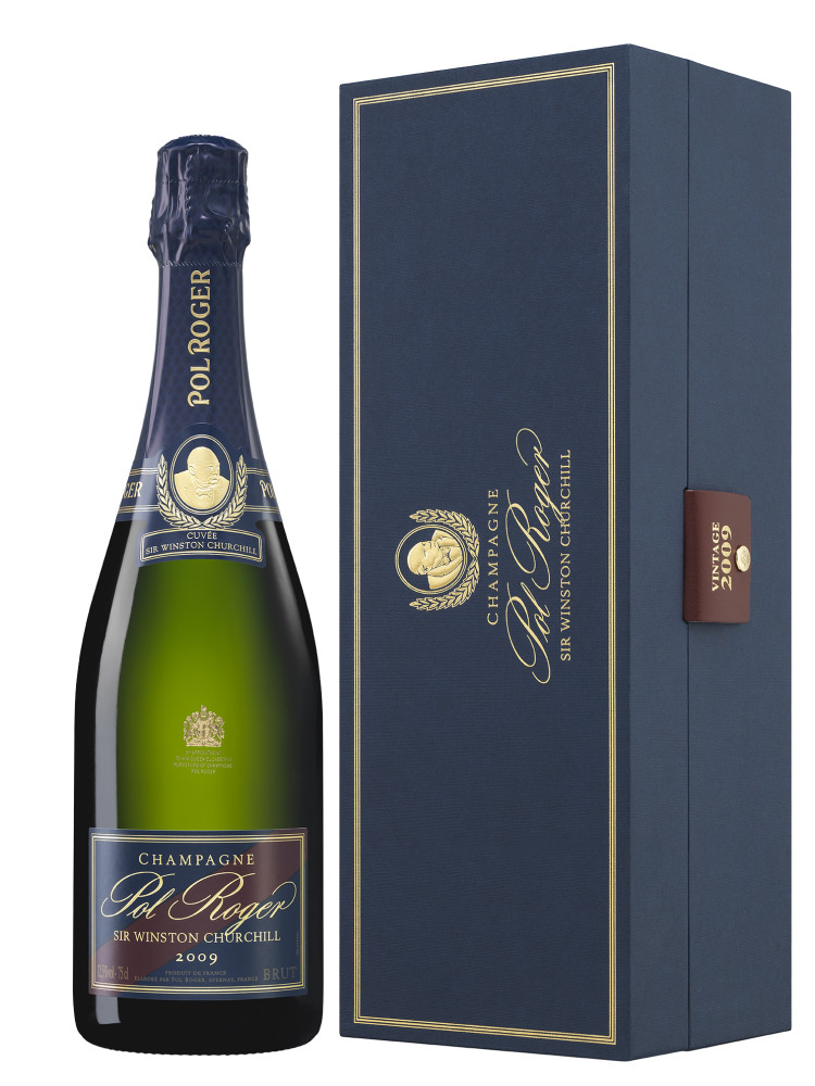 winston churchill champagne