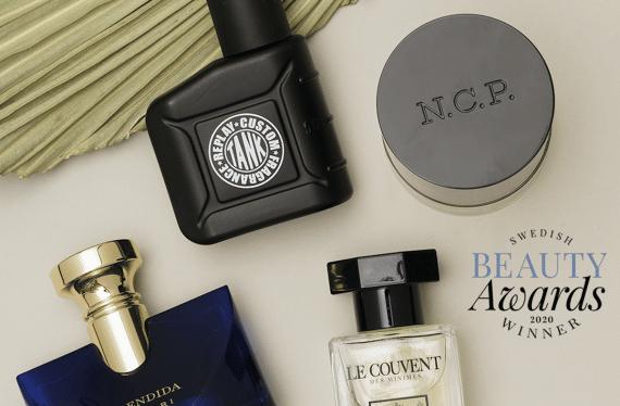 årets bästa skönhetsprodukter och parfymer för män 2020