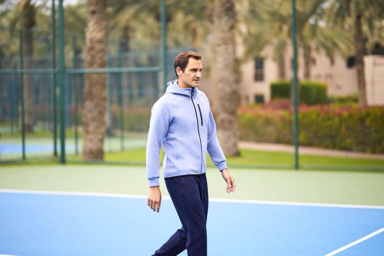 Uniqlo roger Federer herrmode 2020