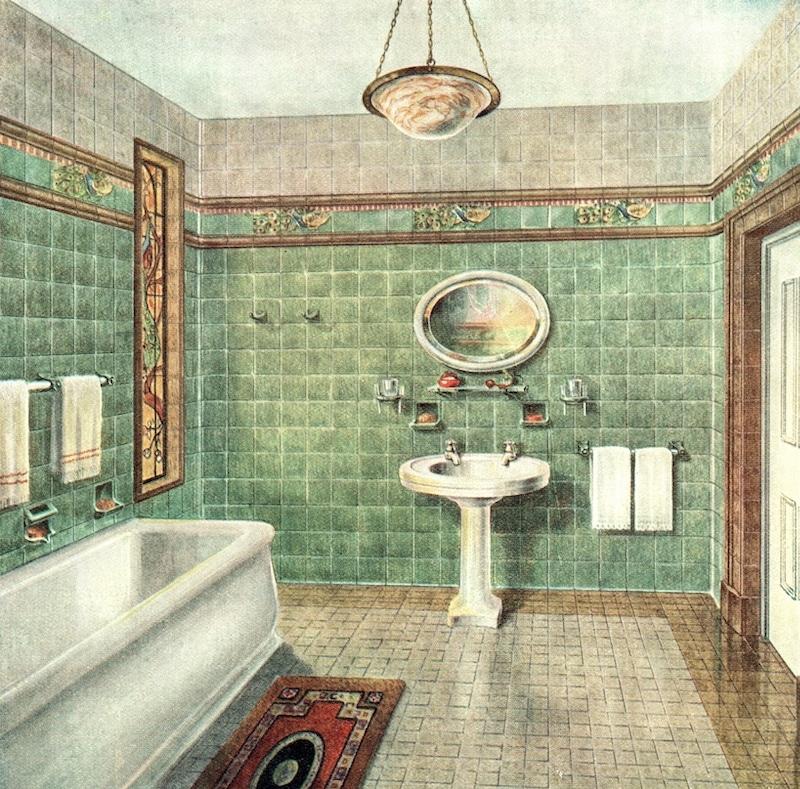 badrum från 1930-talet