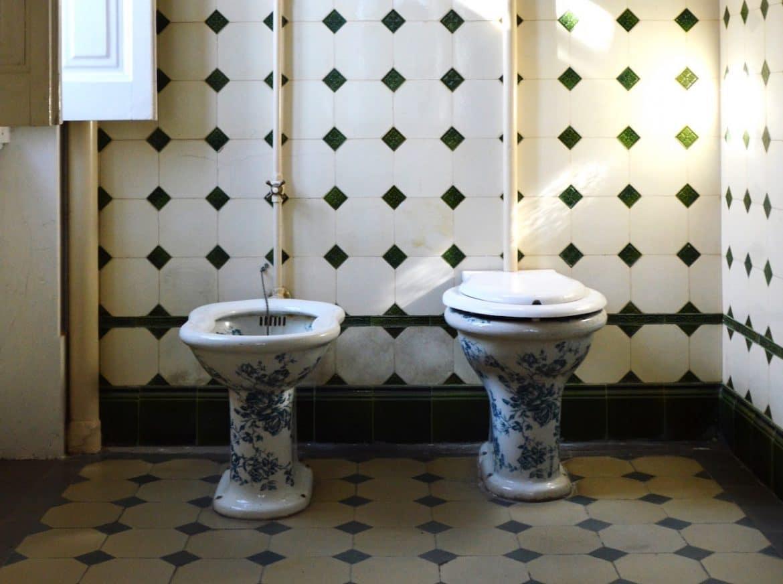 badrumstrender från förr
