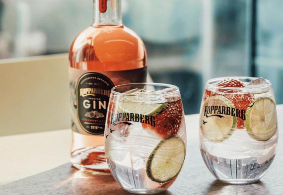 Kopparberg gin vår sommar 2020
