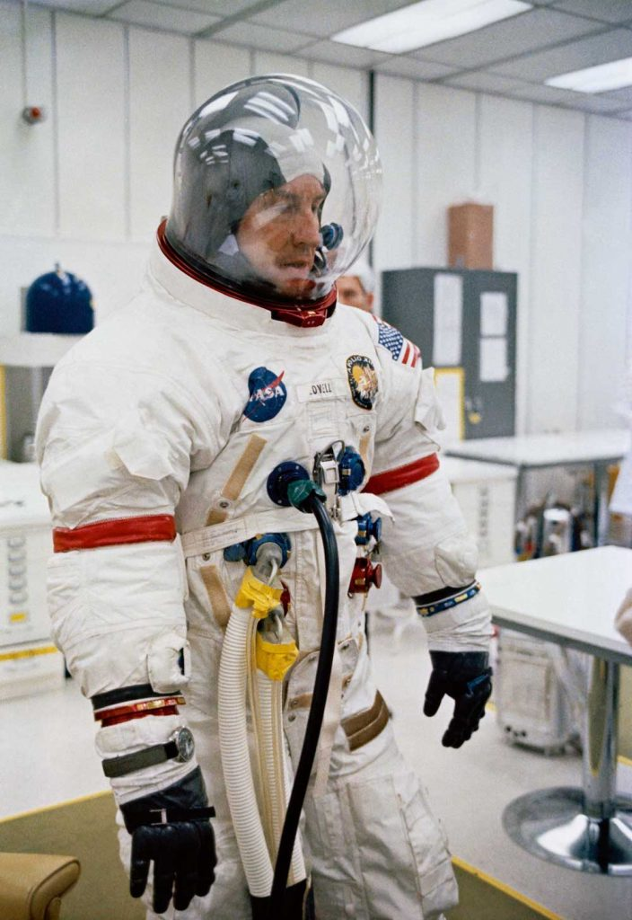 Astronaut James Lovell Apollo 13 Omega speedmaster professional