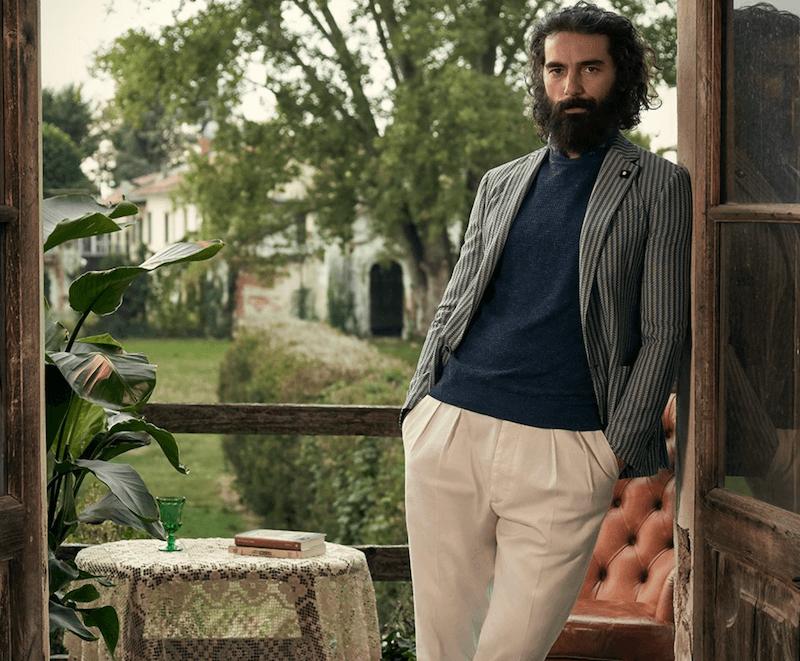 snyggt italienskt mode för män sommar 2020