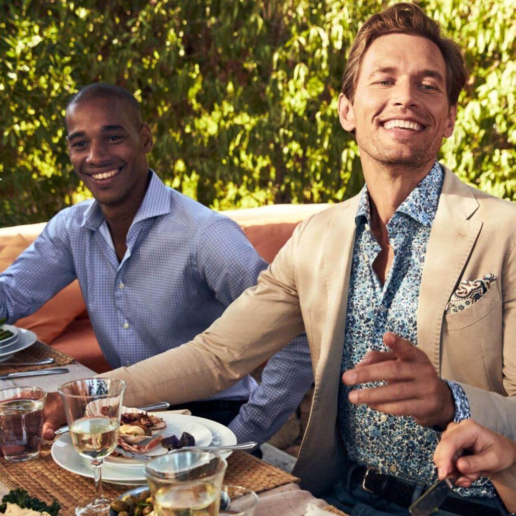sommarens mode för män 2020