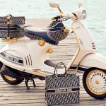 Vespa och Dior samarbetar - lanserar ny scooter med tillbehör