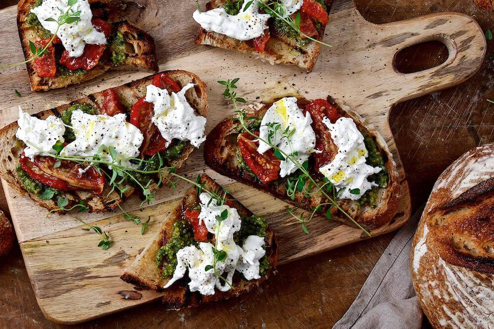 italiensk bruschetta recept