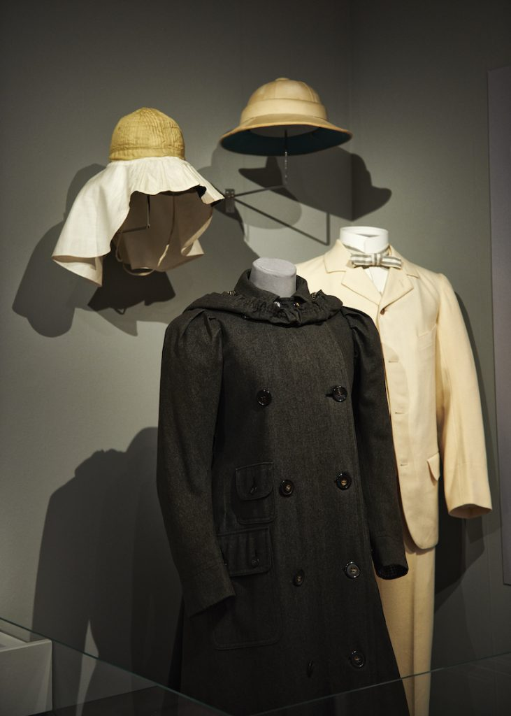 reskläder från sekelskifte 1900