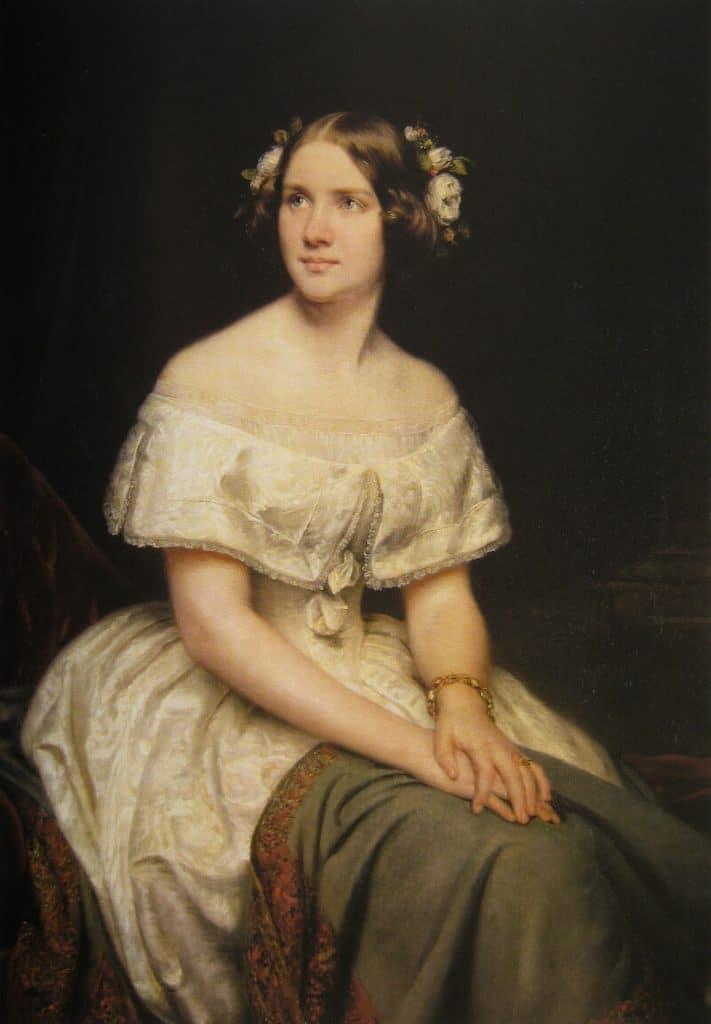 Jenny Lind målning Eduard Magnus