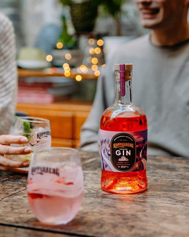 Kopparberg Gin Mixed Fruit nyhet juli 2020