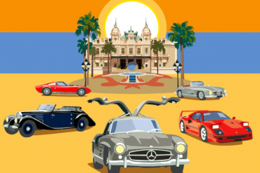 lyxauktion klassiska bilar