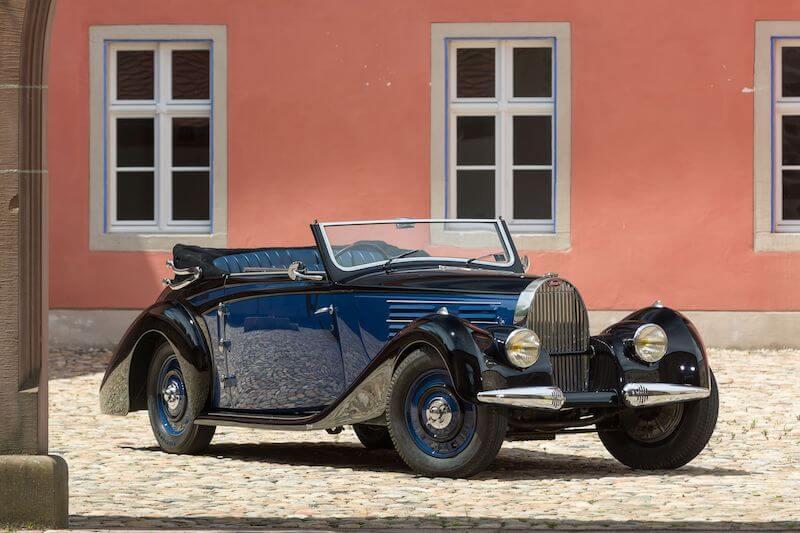 1939 Bugatti 57 Cabriolet