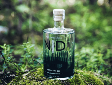 ny gin norrbottens destilleri augusti 2020