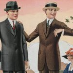 Herrmode från sommaren 1921