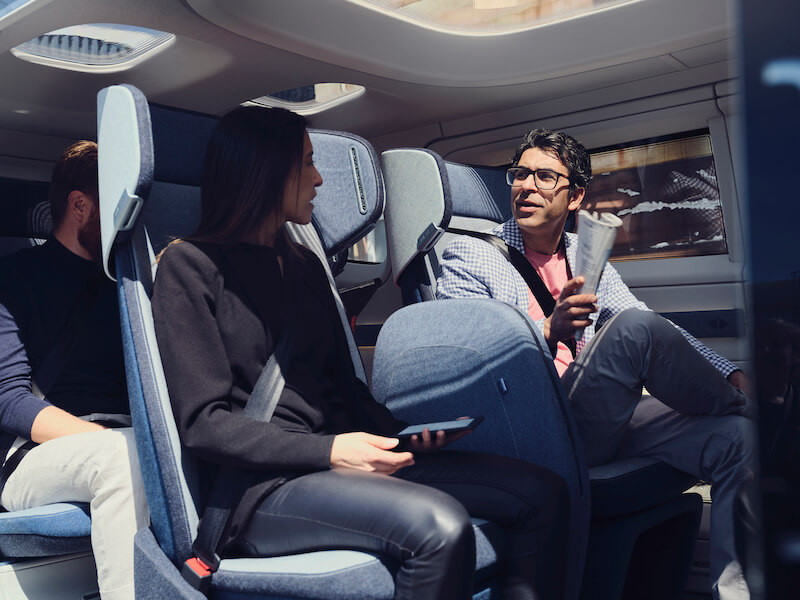 hur ser det ut inuti en självkörande bil