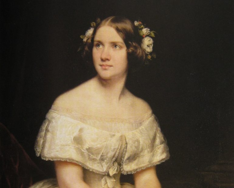 operasångerskan Jenny Lind 1800-tal