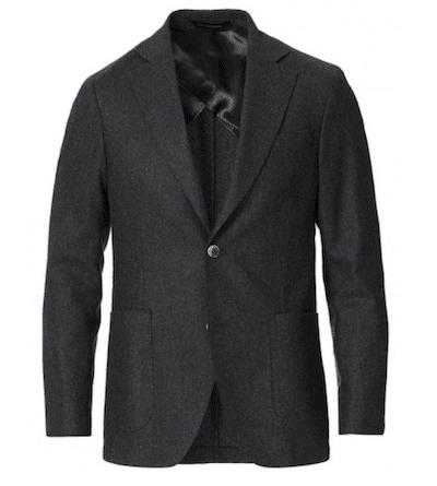 kostym i flanell hösten 2020