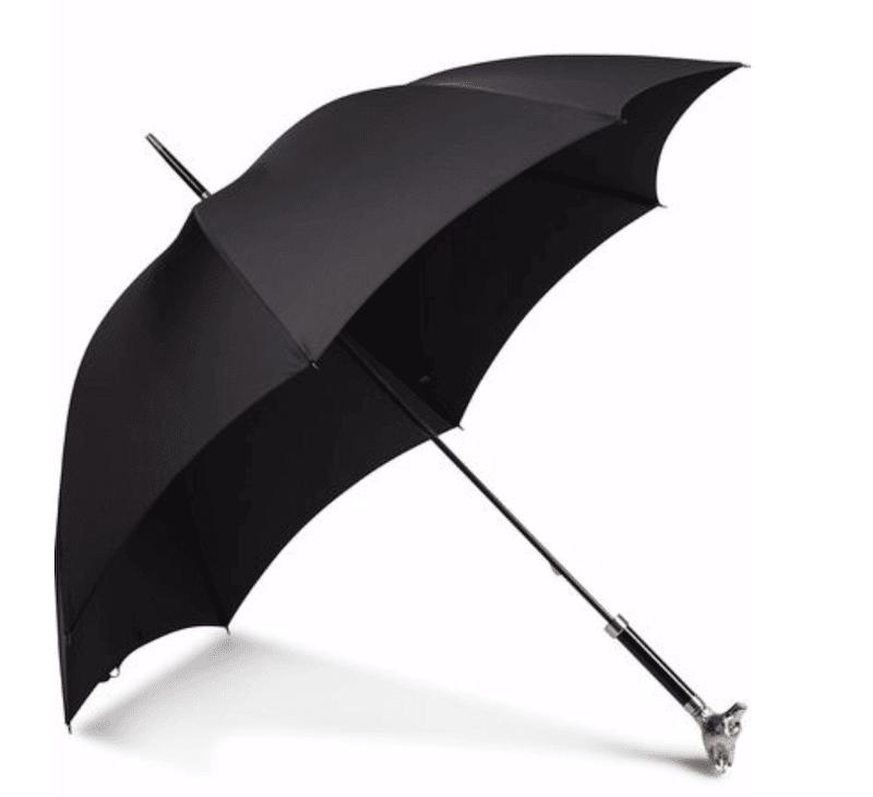 paraply i brittisk engelsk stil