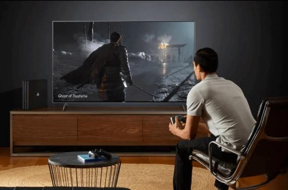 bästa tv för playstation 5