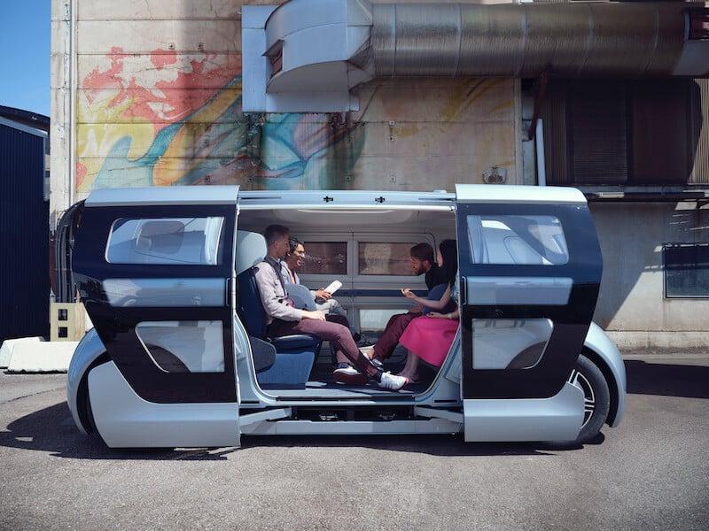 självkörande automatiserade bilar sverige 2020