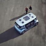 Nu presenteras det första mobilitetssystemet med självkörande fordon för stadsbors behov