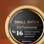 Idag lanseras Old Fashioned - Nytt snus inom konceptet Small Batch