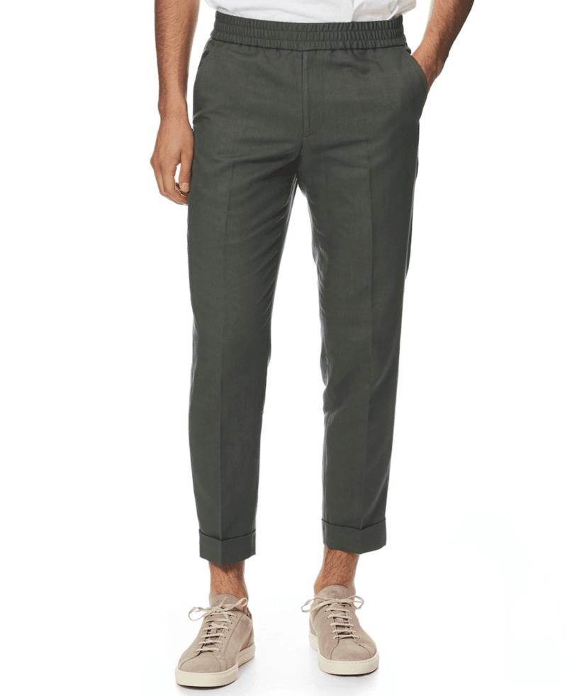 bekväma skräddade byxor mode för män 2021