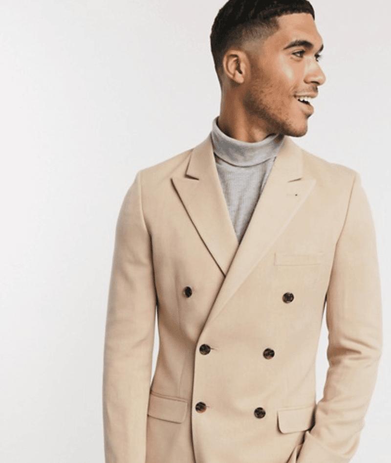 höstens trendfärger dubbelknäppt kavaj mode för män hösten 2020