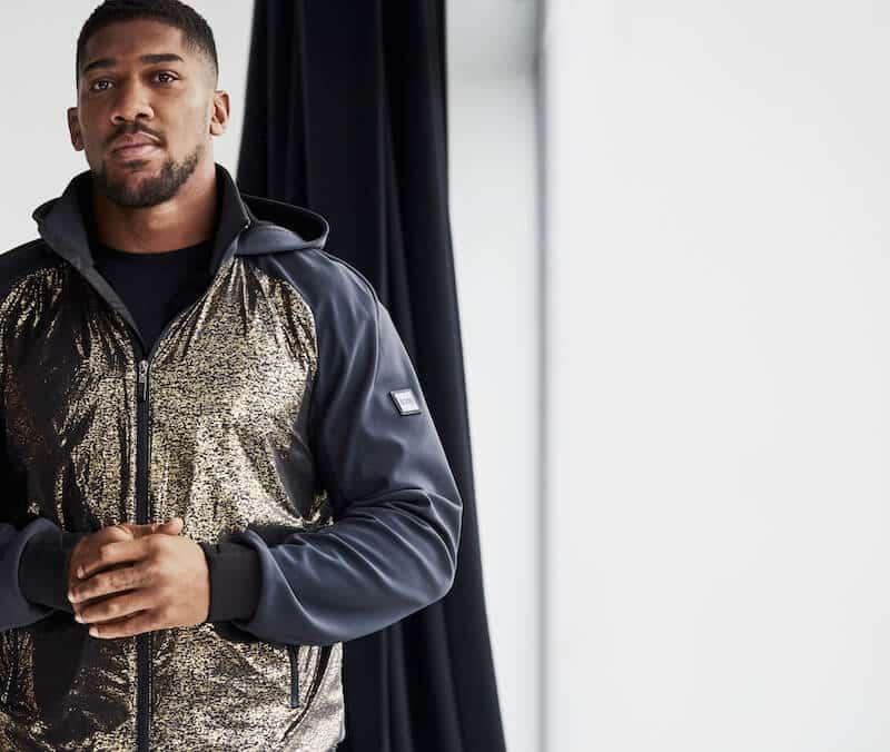 boss samarbete Anthony Joshua mode för män 2020