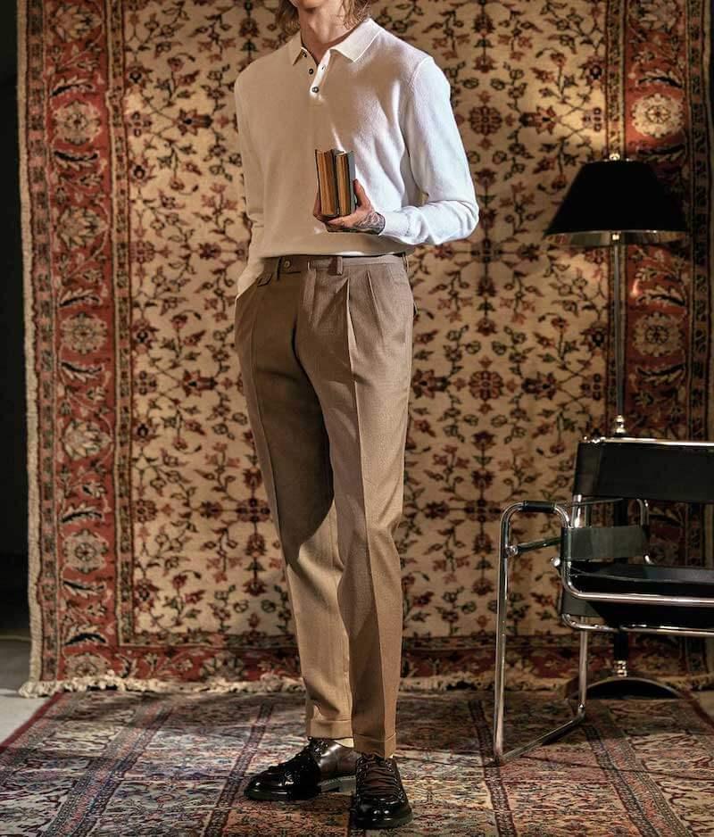 snyggaste mode för män 2021 herrbyxor
