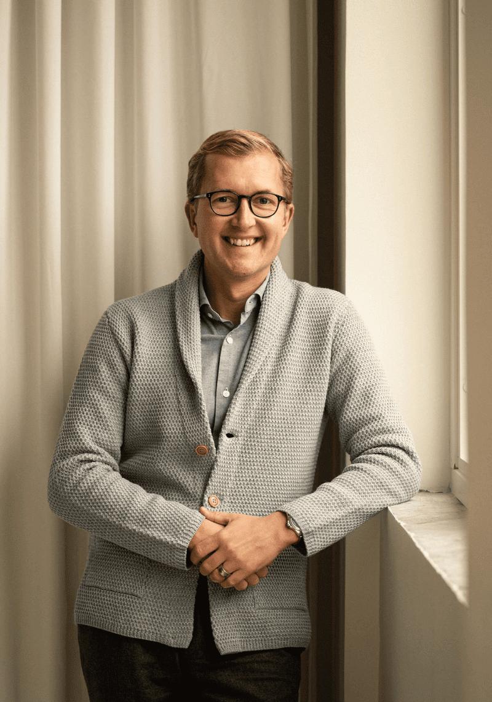 Henning Källqvist, VD och grundare Care of Carl.