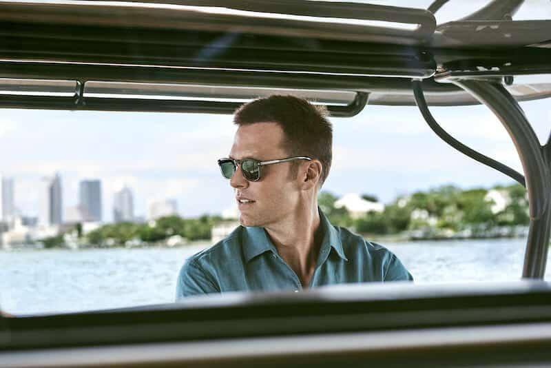 ny glasögonkollektion hösten 2020 cloos Tom Brady