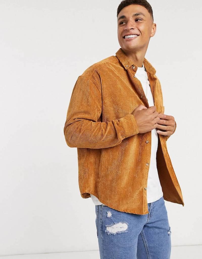 manchesterskjortor overshirt för män höst 2020
