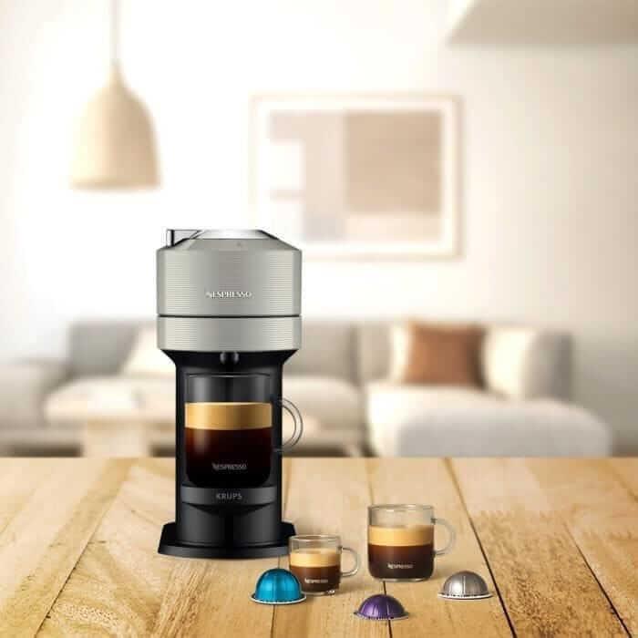 Vertuo Nespresso kaffemaskin för större mängder