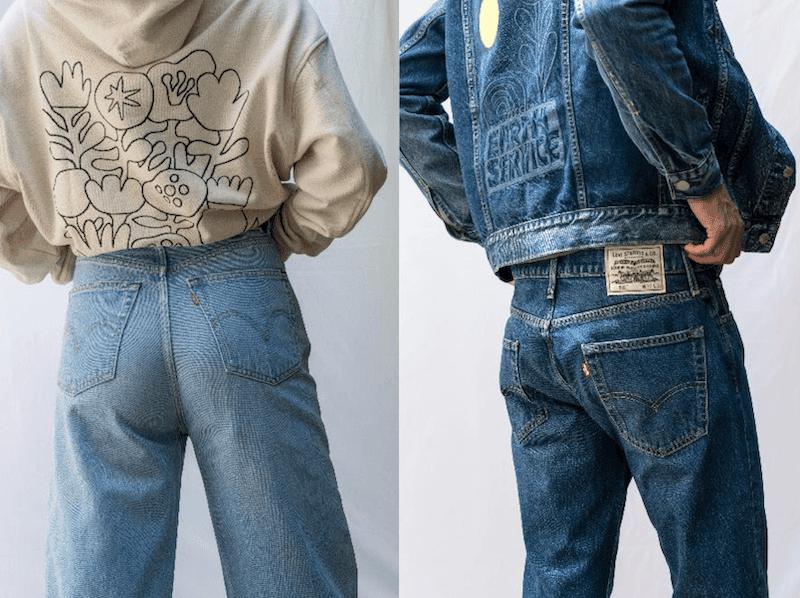 nya jeans från Levis modell 502