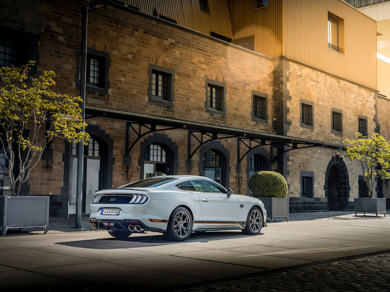 Ford Mustang mach 1 sverige 2021