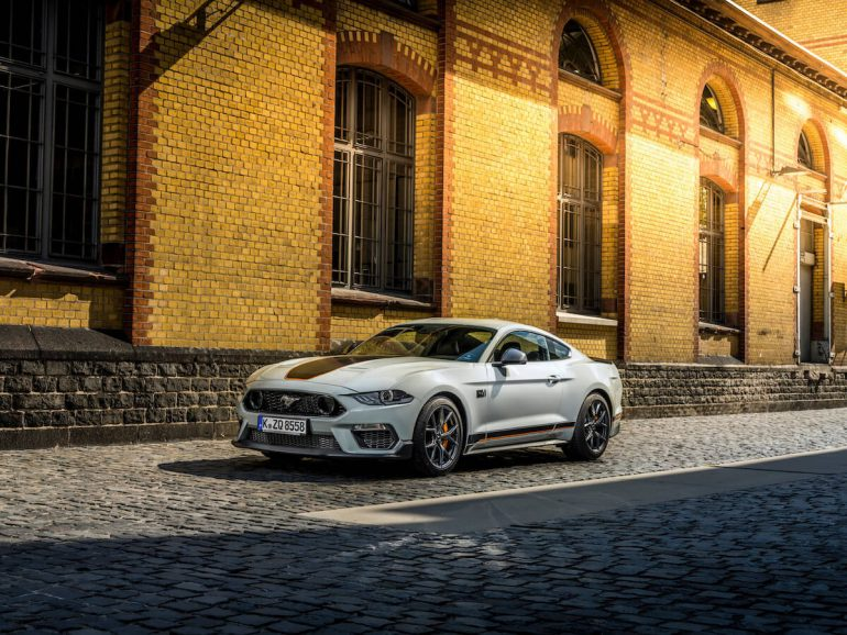 Ford Mustang mach 1 snart i europa