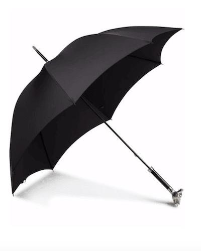 paraply i brittisk stil med knopp djur höst vinter 2020