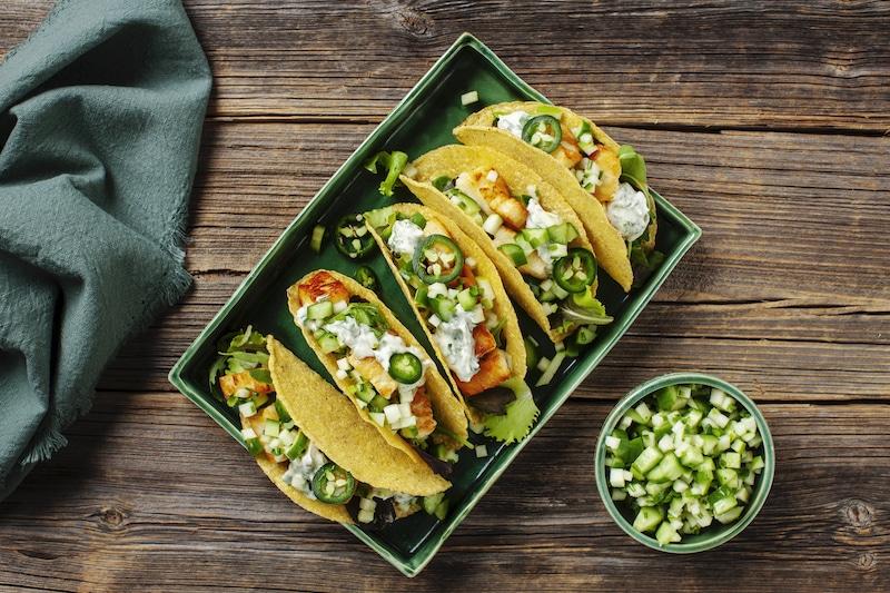 vegetarisk taco recept