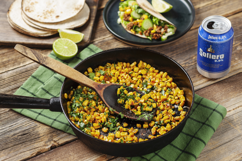 smörstekt majs recept