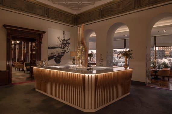 nya champagnebaren grand hotel stockholm november 2020