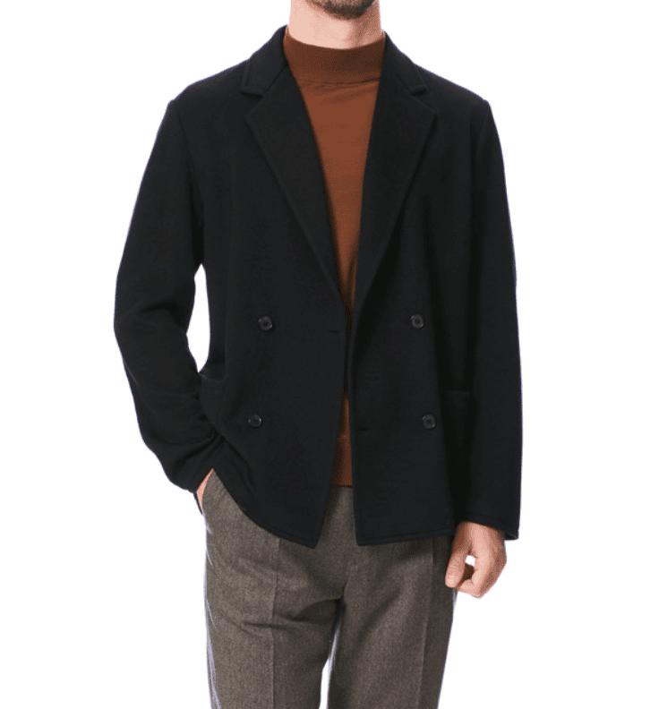bekväm blazer stickad vintern 2020