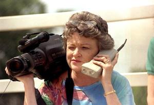 gammal mobiltelefon årets julklapp 90-tal