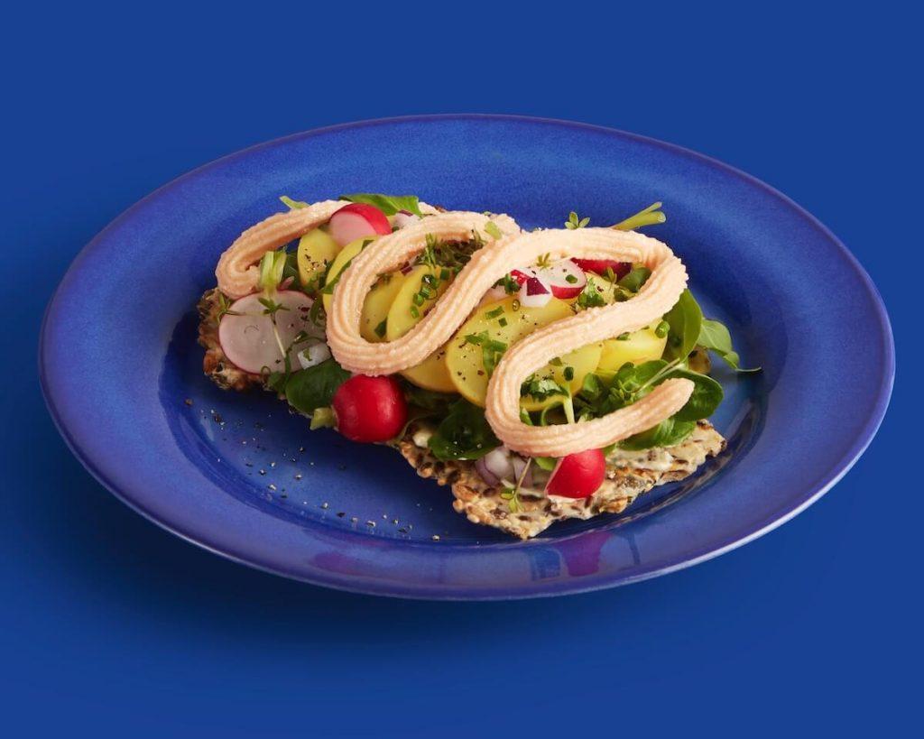 olika sätt att göra en smörgås med kalles kaviar