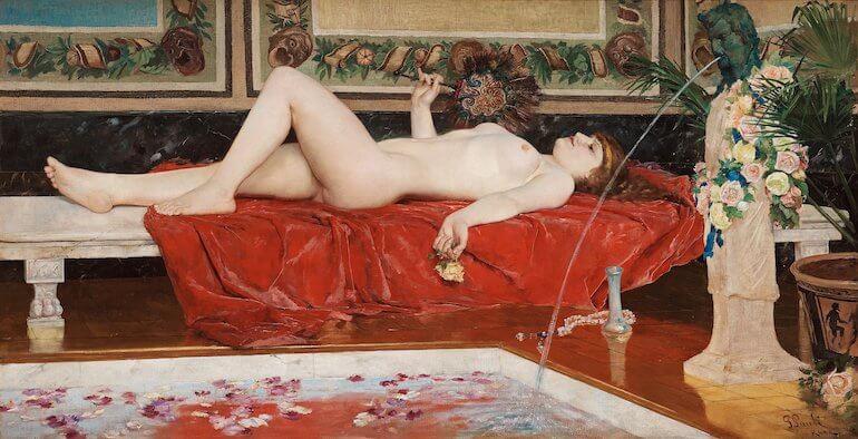 odalisk målning bukowskis