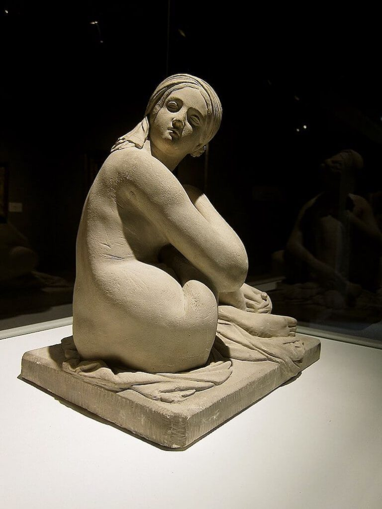 odalisk skulptur James Pradier