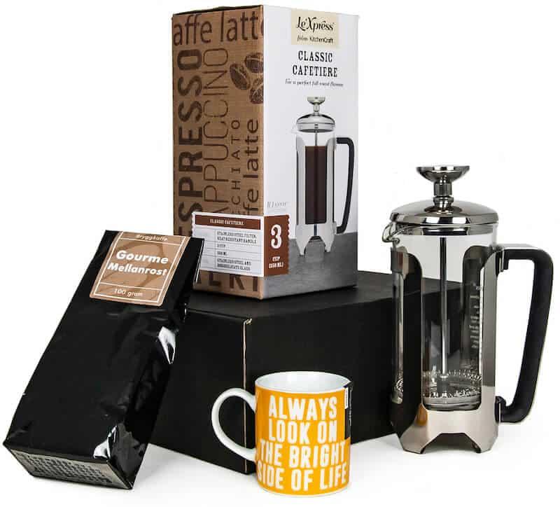 presentlåda för kaffeälskare julen 2020